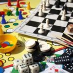 picture of an assortment of board games