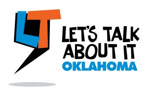 let's talk about it oklahoma logo