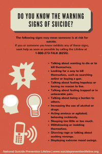 warning signs of suicide graphic