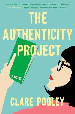 the authenticity project claire pooley book cover
