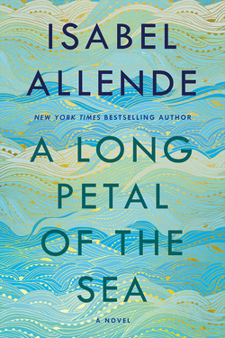 a long petal of the sea by isabel allende book cover