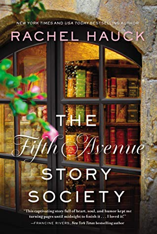 the fifth avenue story society by rachel hauck book cover